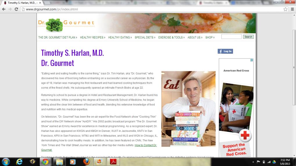 Dr. Gourmet