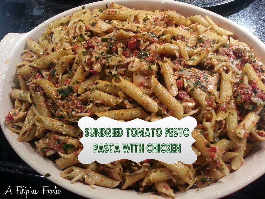 sundried tomato pesto pasta