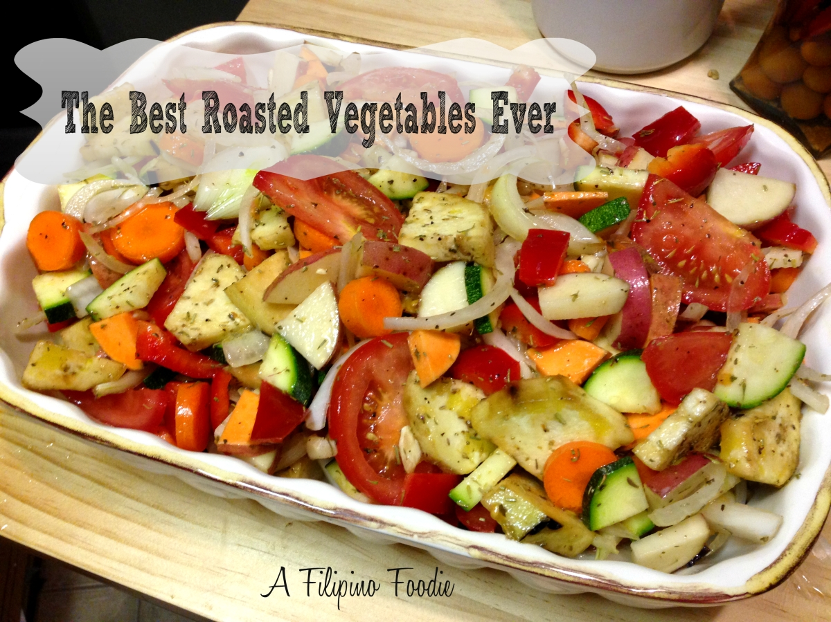 how to cook the best roasted vegetables