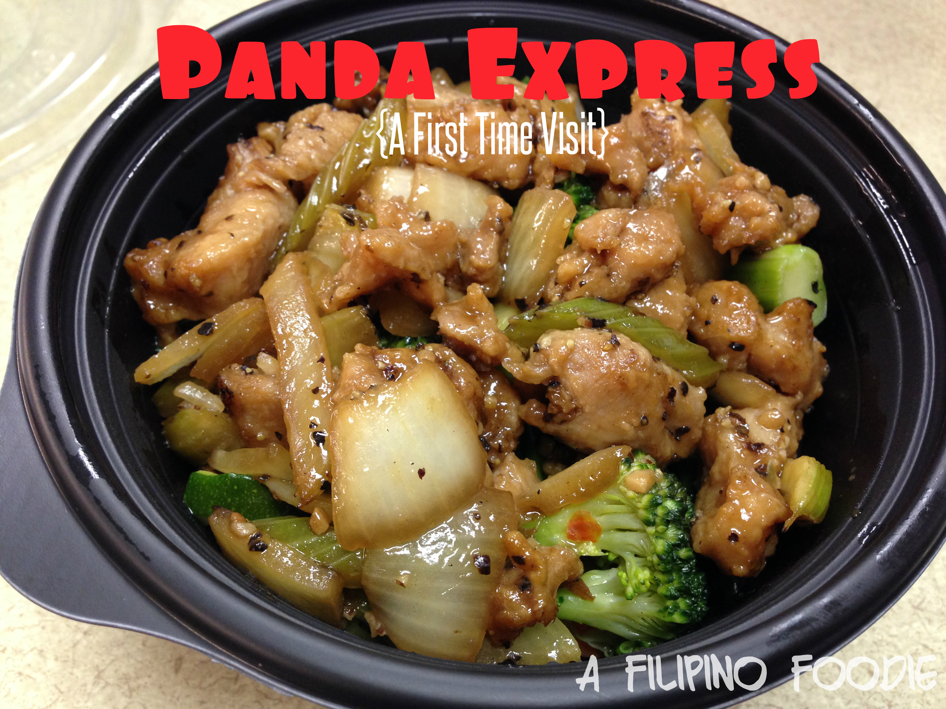 Panda Express Nutrition A Filipino Foodie
