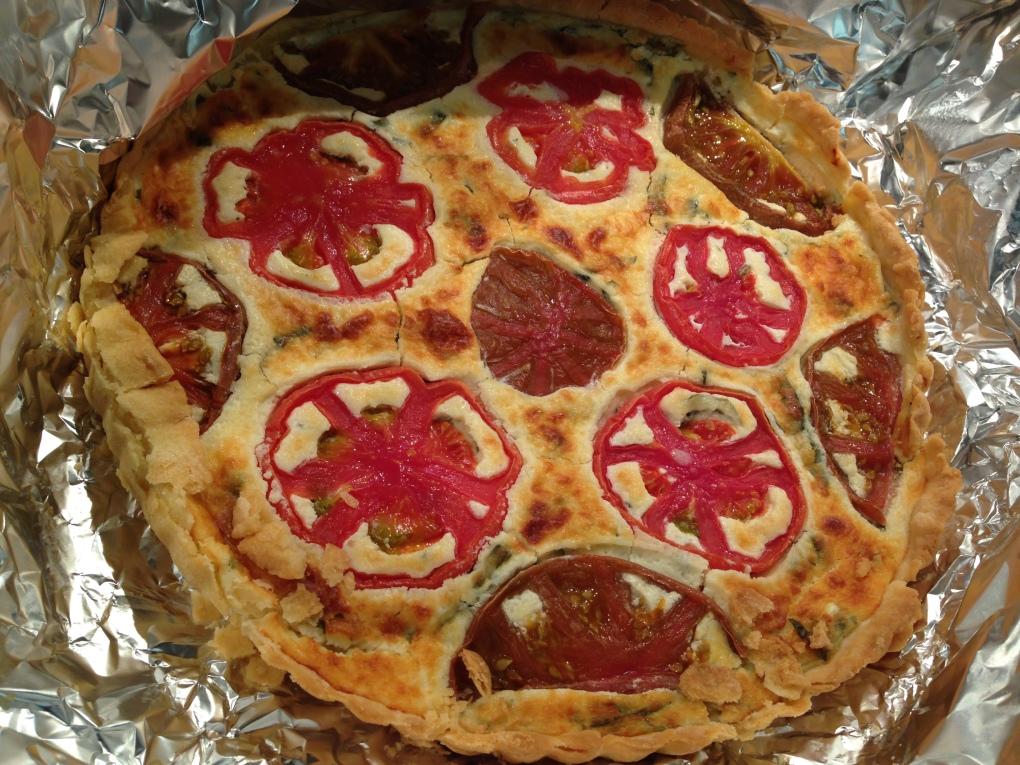 tomato tart SGregg